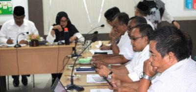 Diseminasi Rencana Evaluasi RPJMD Tahun 2017-2022