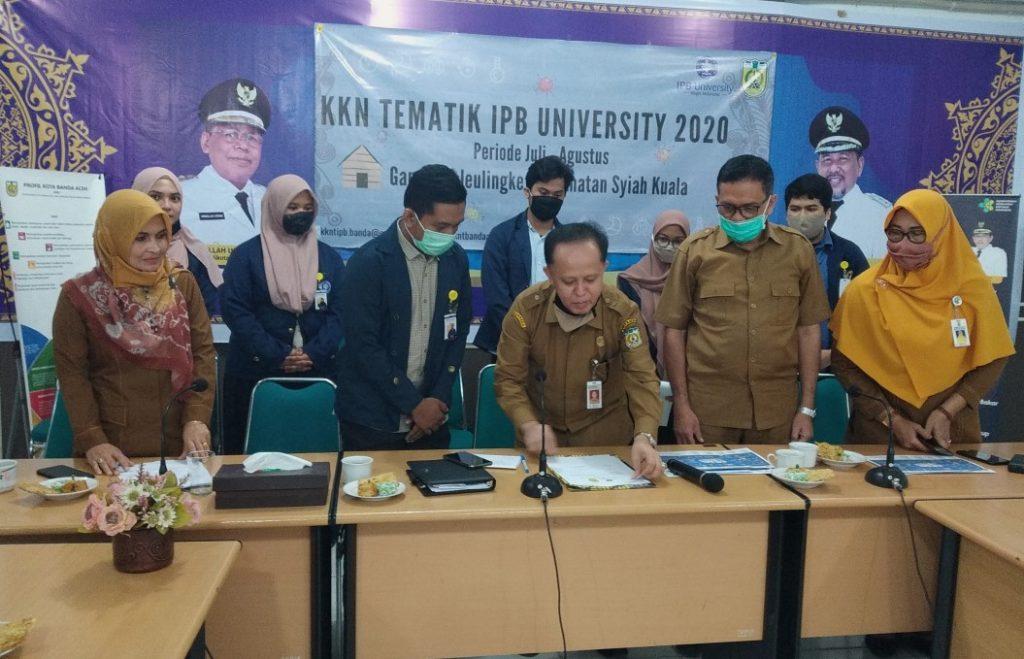 KKN Tematik IPB di Banda Aceh