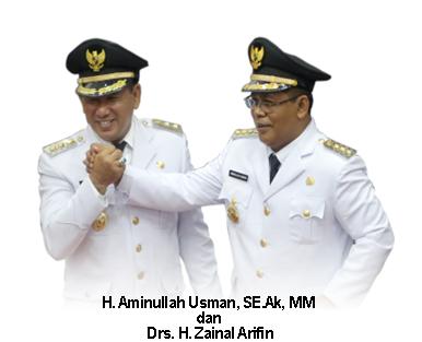 Anugerah Perencanaan Terbaik di Masa 4 Tahun Kepemimpinan Amin-Zainal